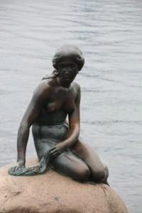 The Little Mermaid monument in Copenhagen, Denmark (Source)