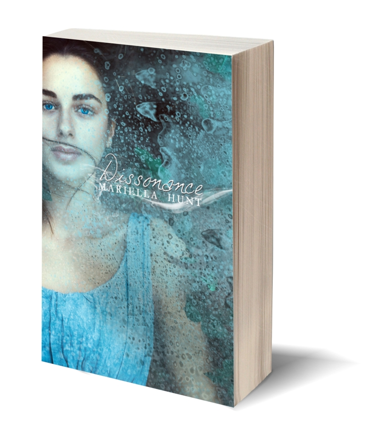 Blank bookcover with clipping path