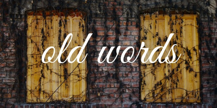 old words