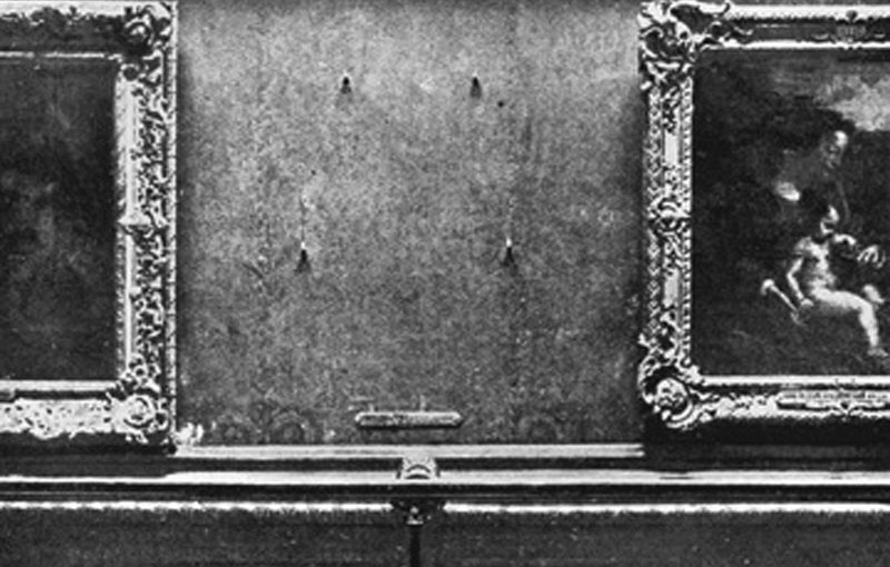 Mona Lisa's RomanticDisappearance