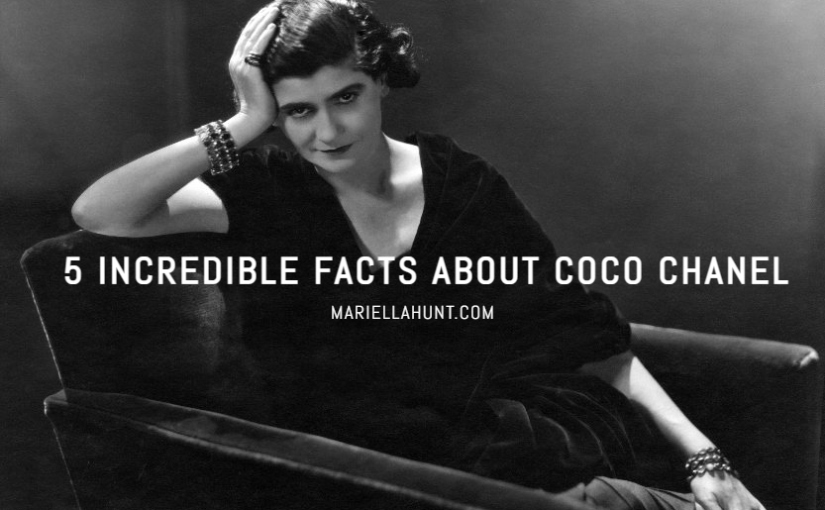 5 Incredible Facts About CocoChanel